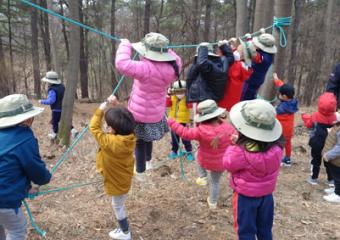 '행복도시 전월산 무궁화 유아숲체험원' 임산부 숲태교 등 다양한 프로그램 운영